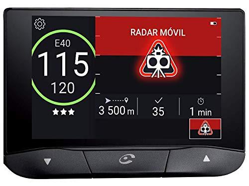 Coyote - Coyote S - Asistente de Ayuda a la Conducción con Cámara Integrada - Alertas de incidencias en la Carretera, Tráfico e Accidentes en Tiempo Real - Radares - Límites de Velocidad - Bluetooth