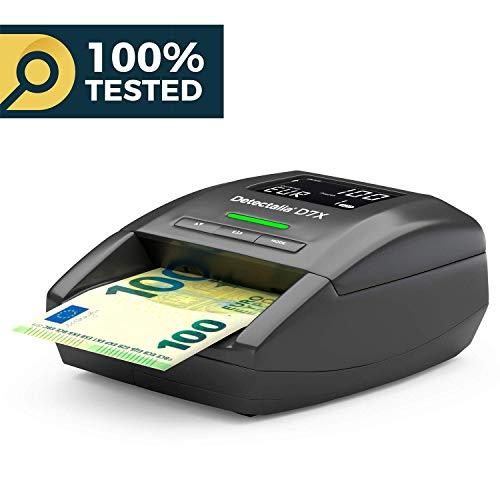 Detectalia D7X Detector de billetes falsos listo para los nuevos billetes de 100€ y 200€ y 100% de detección