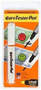 rotulador detector euro falso